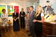 Piia Ausman (Haus Galerii), Kārlis Eihenbaums (Latvijas vēstnieks Igaunijā), Ināra Liepa (leļļu māksliniece), Dace Runča, Ināra Eihenbauma